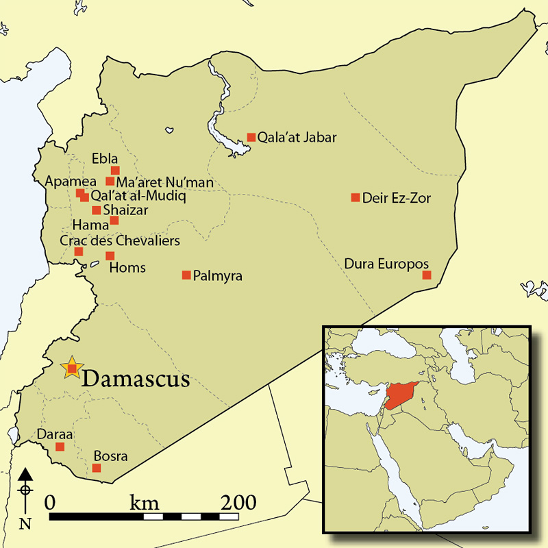 Syria where is it located map where is syria located in asia antiquity journal where is syria gumiabroncs Choice Image