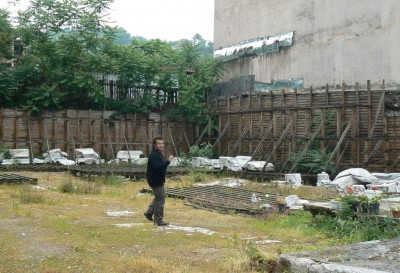 Figure 2. Excavation site at Çukurbağ today, following the demolition of the modern building.