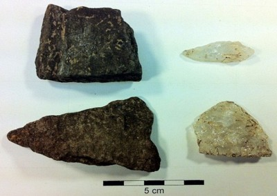 Figure 4. Alaka phase artefacts.
