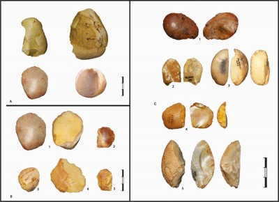 Figure 3. Pontinian lithic industry.