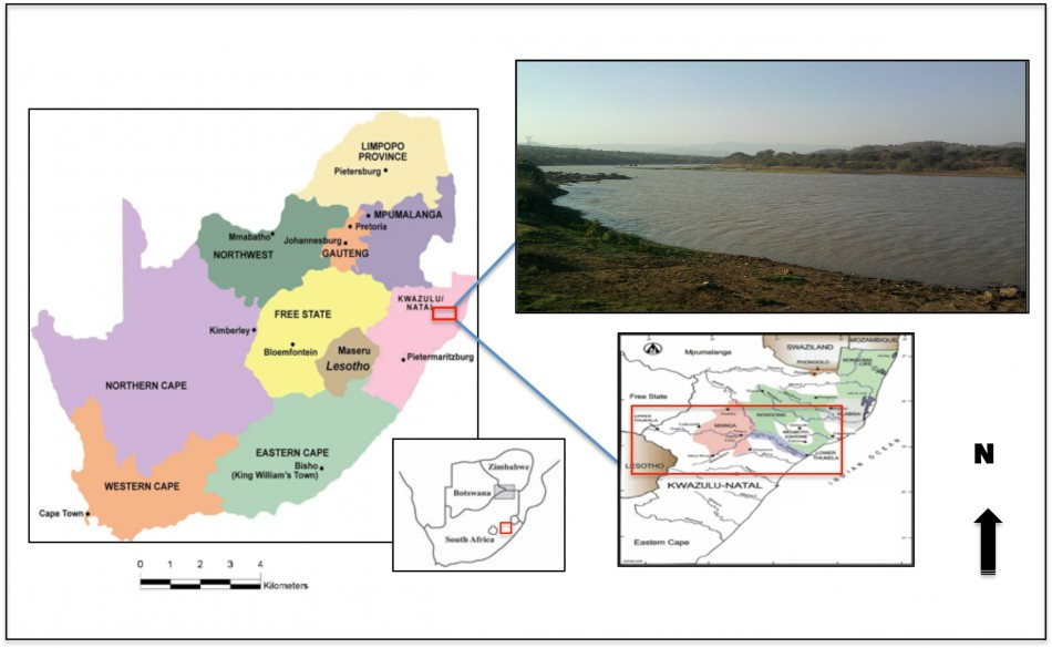 Natal South Africa Map.Ethnoarchaeology Of Zulu Pots In The Uthukela Basin Kwazulu Natal