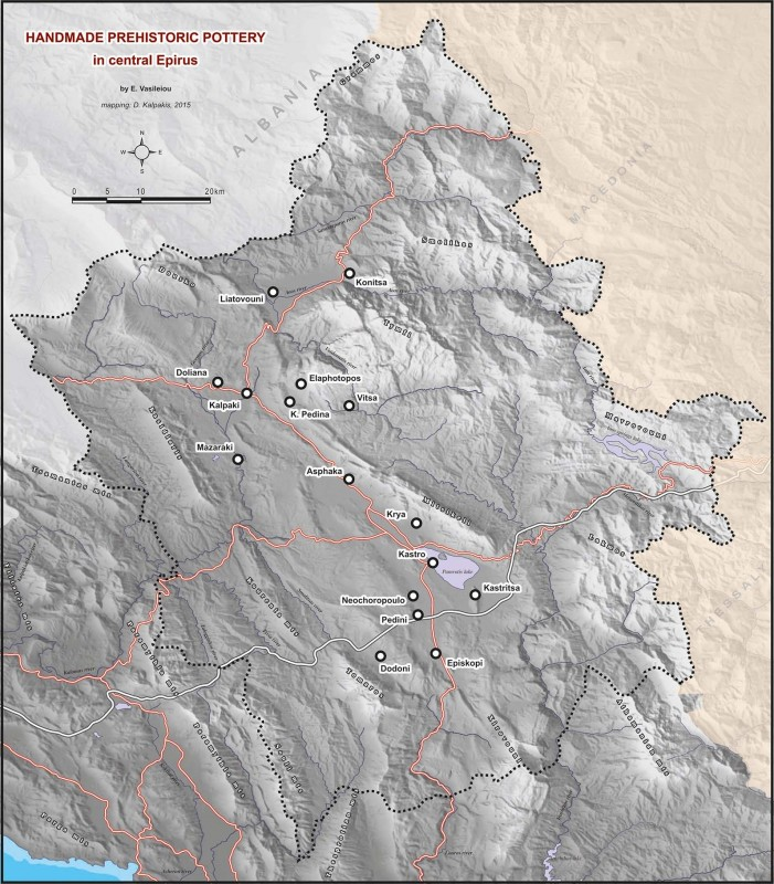 Ioannina Greece Map.Episkopi Ioannina Greece A Neolithic Extended Settlement In