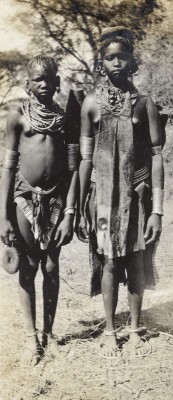 Figure 3. Photograph of two young women in the 1920s taken by colonial administrative officer Earnest Emley; courtesy of the Pitt Rivers Museum.
